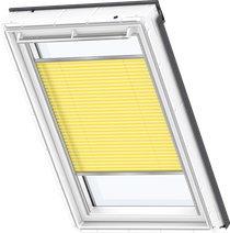 Image for Velux Pleated Blind Sunny Yellow - FHL 1271S