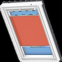 Image for Velux Pleated Blind Sunny Orange - FHL 1273S
