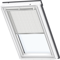 Image for Velux Electric Pleated Blind Snowy White - FML 1255