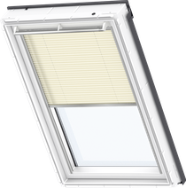 Image for Velux Electric Pleated Blind Delightful Cream - FML 1258