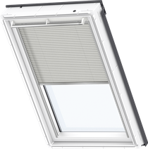 Image for Velux Electric Pleated Blind Classic Sand - FML 1259
