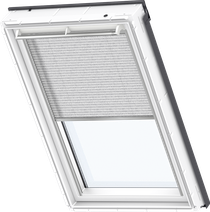 Image for Velux Electric Pleated Blind Infinite Grey - FML 1262
