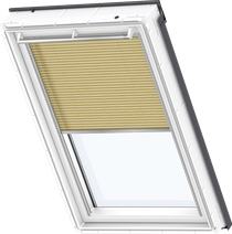 Image for Velux Electric Pleated Blind Metallic Gold - FML 1263