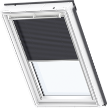 Image for Velux Electric Pleated Blind Metallic Blue - FML 1265