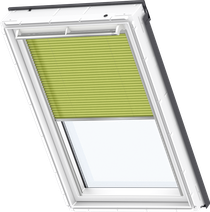 Image for Velux Electric Pleated Blind Luscious Lime - FML 1266