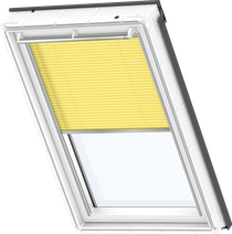 Image for Velux Electric Pleated Blind Sunny Yellow - FML 1271