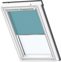 Image for Velux Electric Pleated Blind Sunny Blue - FML 1272