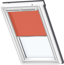 Image for Velux Electric Pleated Blind Sunny Orange - FML 1273