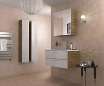 Image for Rapolano Bathroom Wall Tile Walnut Satin 300mm x 416mm 8 Per Pack - BCT01416