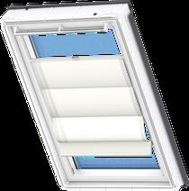 Image for Velux Roman Blind White - FHB 6501
