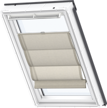 Image for Velux Roman Blind Structured Cappucino - FHB 6517