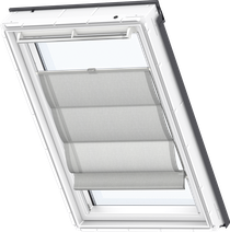 Image for Velux Roman Blind Structured Grey - FHB 6516