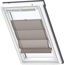Image for Velux Roman Blind Structured Chocolate - FHB 6518
