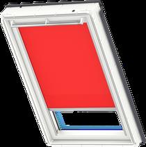 Image for Velux Solar Roller Bright Red - RSL 4159
