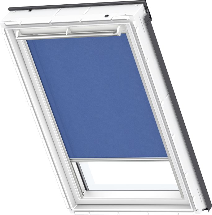 velux roller blind blue rfl 1952s roof windows. Black Bedroom Furniture Sets. Home Design Ideas