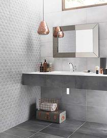 Image for Ted Baker VersaTile Light Grey 148mm x 148mm Wall Tile, Floor Tile, Multi-Use Tile 24 Per Pack - BCT43720