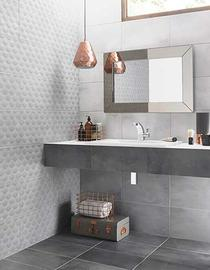 Image for Ted Baker VersaTile Dark Grey 148mm x 148mm Wall Tile, Floor Tile, Multi-Use Tile 24 Per Pack - BCT43737