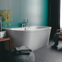 Cleargreen Saturn Back to Wall Freestanding Bath 1700mm