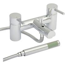 Image for Premier Quest Bath Shower Mixer Tap Deck Mounted - Chrome