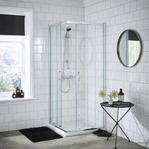 Image for Premier Ella Corner Entry Shower Door 800mm x 800mm - 5mm Glass