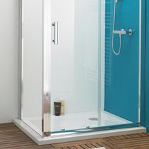 Image for Premier Pearlstone Rectangular Shower Tray 1000mm x 760mm Stone Resin