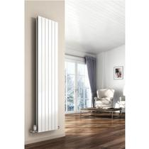 Image for Reina Flat Designer Radiator 1800mm H x 366mm W Single Convector, White