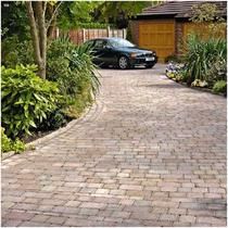 Image for Marshalls Drivesett Tegula Traditional Concrete Block Paving 3 Size Project Pack - 9.73m2 per pack
