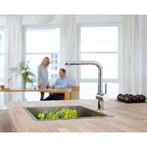 Grohe Minta L-Spout Kitchen Tap & KE 50 Undermount Kitchen Sink
