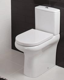 RAK Compact Deluxe Rimless Close Coupled BTW WC