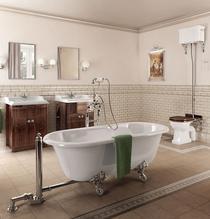 Image for Burlington Windsor Freestanding Double Ended Bath - 1700 x 750mm
