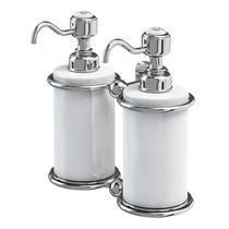 Image for Burlington Double Soap Dispenser