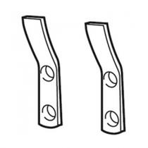 Image for Armitage Shanks Wall Hangers for Urinals (Pair) - S927567