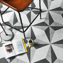 Image for Feature Floors Henry Grey Matt Floor 331mm x 331mm 9 Per Pack - BCT49333