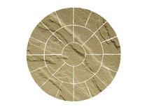 Image for Bradstone Natural Sandstone Autumn Green 2 Ring Circle