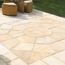Image for Bradstone Natural Sandstone Fossil Buff Octagon