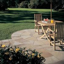 Image for Bradstone Natural Sandstone Sunset Buff 3 Ring Circle Squaring Off Kit