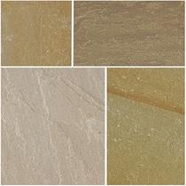 Image for Bradstone Natural Sandstone Paving Autumn Green 900X600 (28 Pack)
