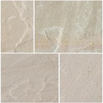Image for Bradstone Natural Sandstone Heather Ridge Patio Pack Feature Kit - 15.30m2