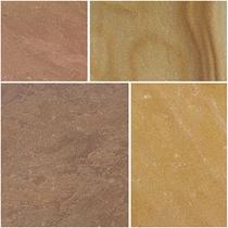 Image for Bradstone Natural Sandstone Modac Patio Pack Feature Kit - 15.30m2