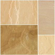 Image for Bradstone Natural Sandstone Paving Sunset Buff 600X600 (40 Pack)