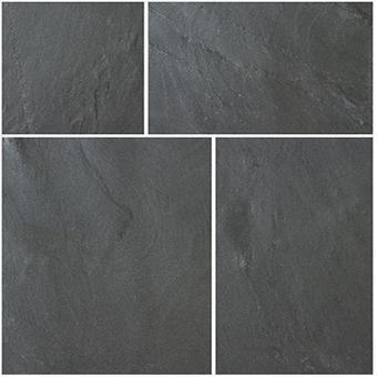 Bradstone Natural Slate Blue-Black 600x600 Paving Slabs