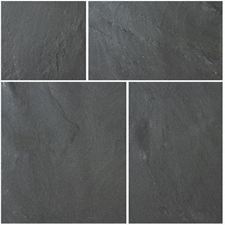 Bradstone Natural Slate Blue-Black 600x300 Paving Slabs