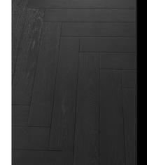 Image for Black Oak Herringbone Flooring Engineered Parquet - 1.083m2