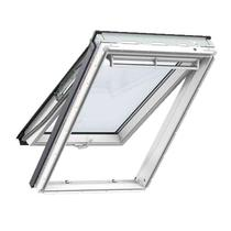Image for VELUX White Painted GPL PK04 2066  Pine Top Hung Window Triple Glazed - 94cm x 98cm