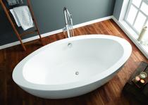 Image for April Halton Contemporary Freestanding Bath 1850mm x 580mm