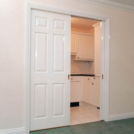 hafele pocket hideaway door systems for 1 door. Black Bedroom Furniture Sets. Home Design Ideas