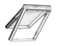 Image for VELUX White Painted GPL CK06 2070  Laminated Top Hung Roof Window 55x118cm