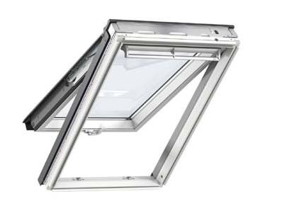 VELUX White Painted GPL MK04 2070  Laminated Top Hung Roof Window 78x98cm