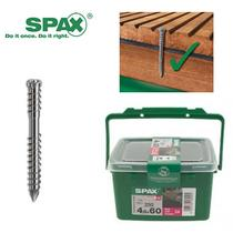 Image for SPAX Decking Screws Wirox C4 4.5 x 60mm 250 Tub