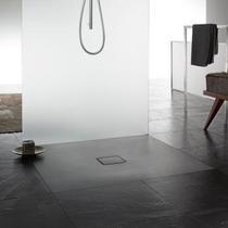Kaldewei Avantgarde Conoflat Matt Anthracite 1100 x 1000mm Steel Shower Tray